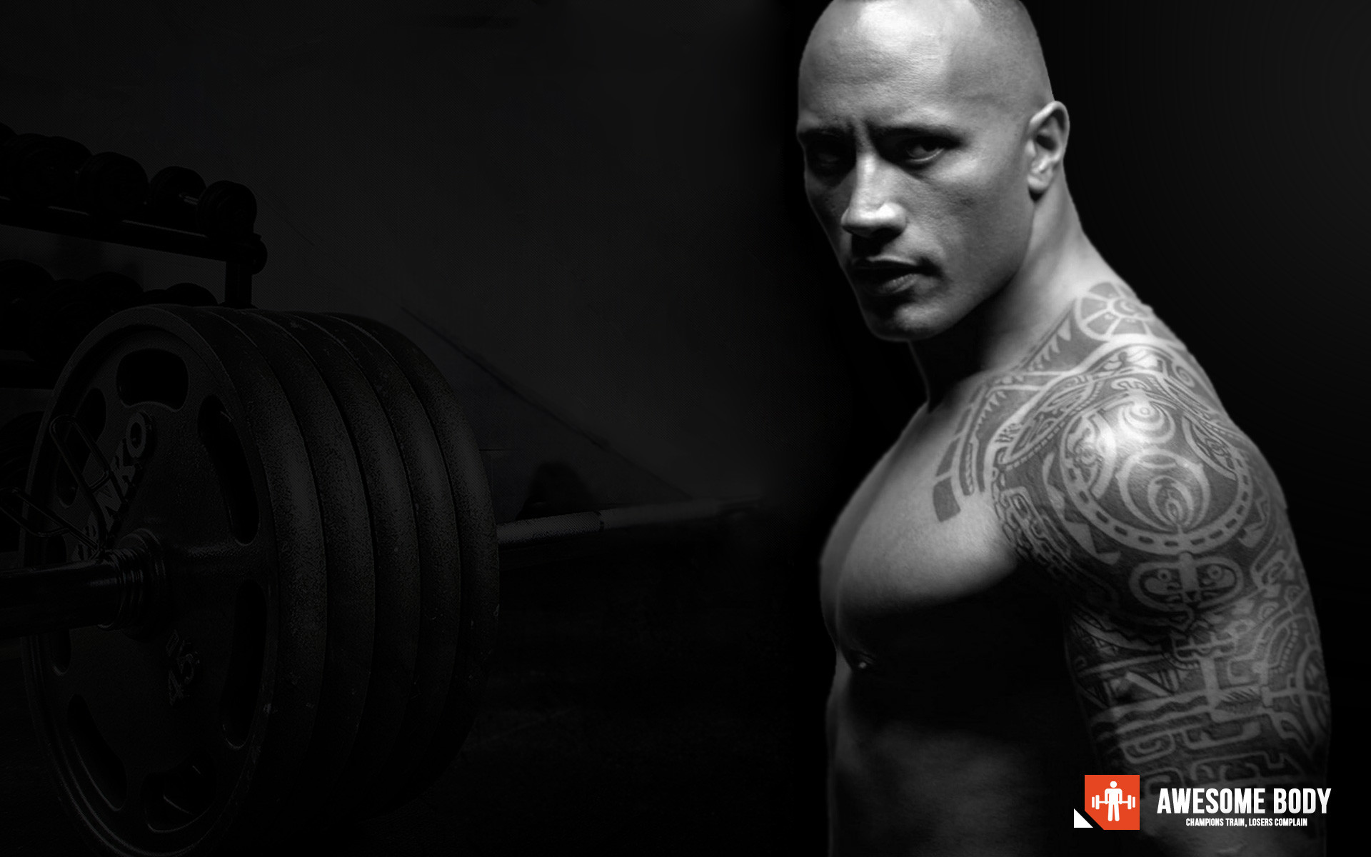 dwayne johnson full hd wallpaper and background