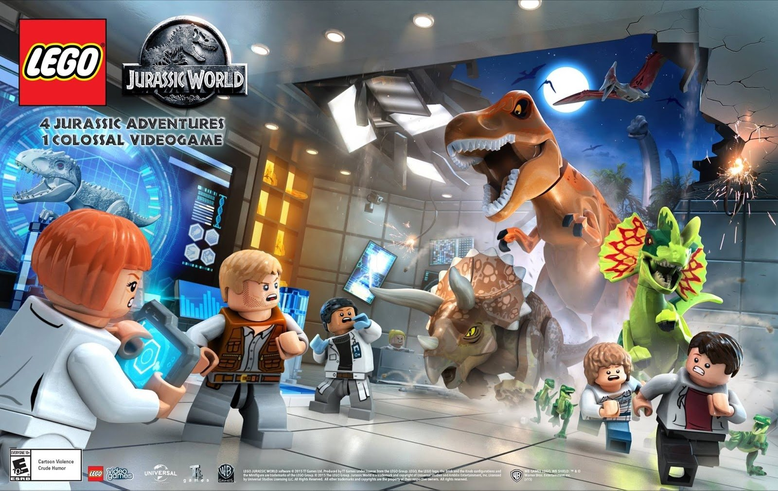 2 Lego Jurassic World Hd Wallpapers Background Images Wallpaper Ps4 Abyss