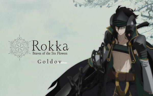 Anime Rokka: Braves of the Six Flowers Goldof Auora HD Wallpaper | Background Image