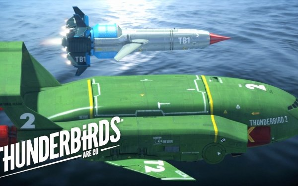 TV Show Thunderbirds Are Go Rocket HD Wallpaper | Background Image