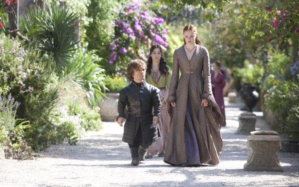 TV Show Game Of Thrones Sansa Stark Sophie Turner Peter Dinklage Tyrion Lannister HD Wallpaper | Background Image