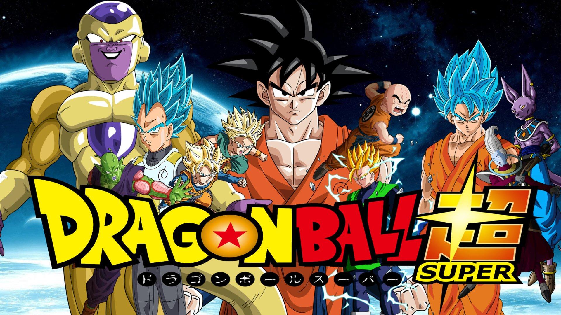 动漫 - 龙珠超  Goku Whis (Dragon Ball) Gohan (Dragon Ball) Goten (Dragon Ball) Piccolo (Dragon Ball) Freeza (Dragon Ball) Krillin (Dragon Ball) Trunks (Dragon Ball) Vegeta (Dragon Ball) Beerus (Dragon Ball) Super Saiyan God 壁纸