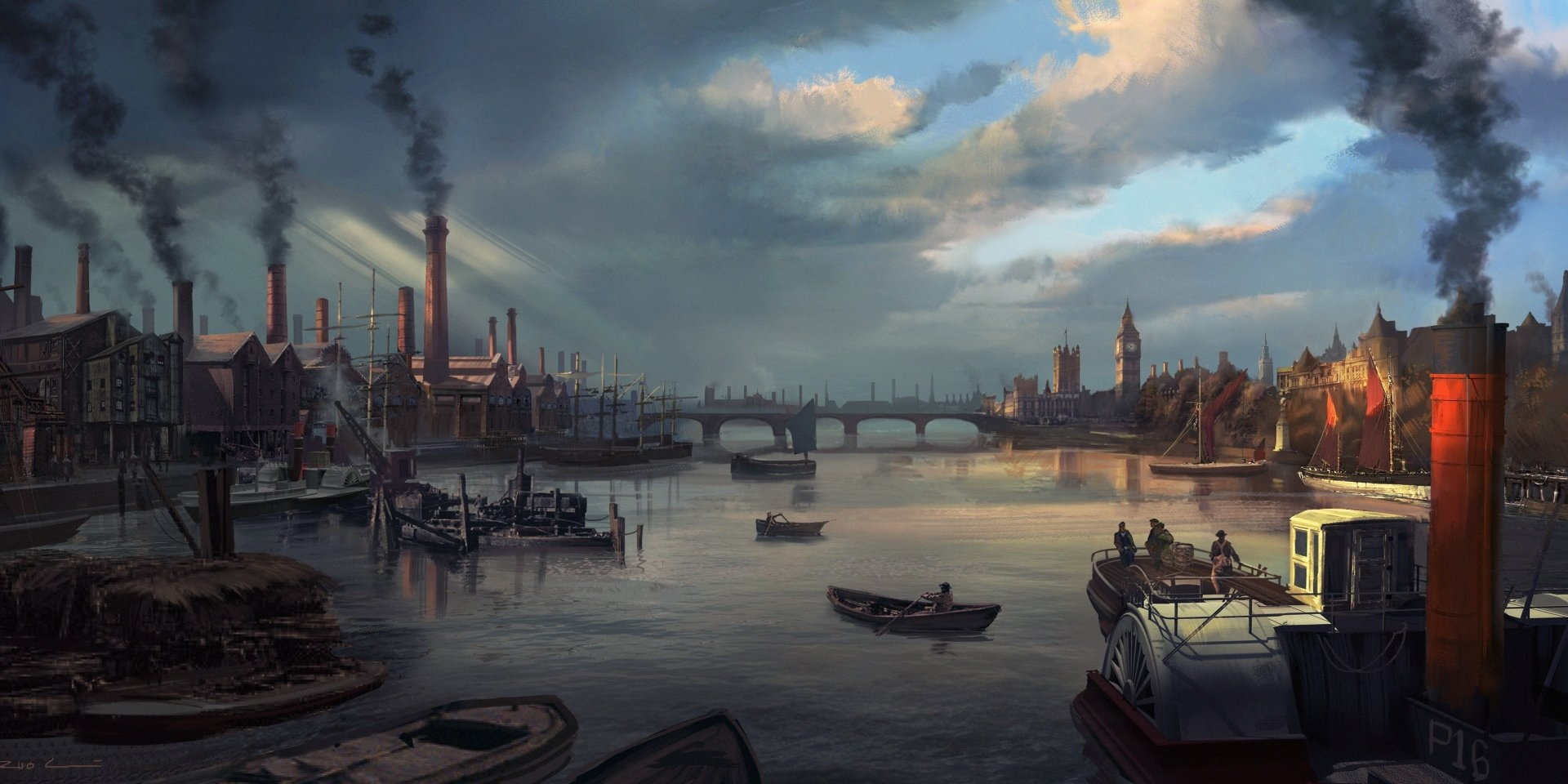 Video Game - Assassin's Creed: Syndicate  Wallpaper