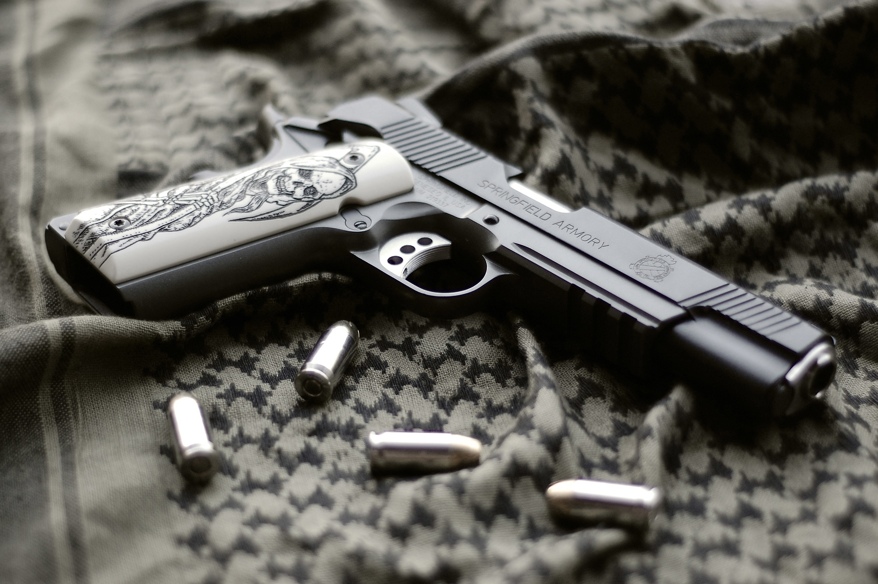 Springfield Armory Pistol HD Wallpaper