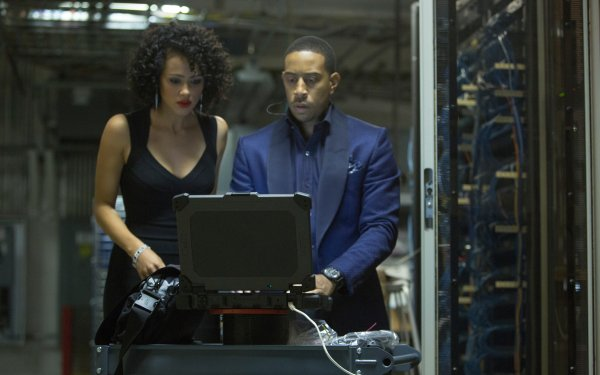 Movie Furious 7 Fast & Furious Ludacris Tej Nathalie Emmanuel Ramsey HD Wallpaper | Background Image