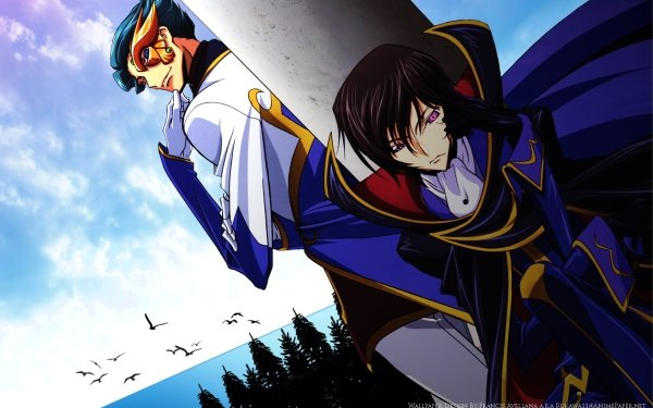 Anime Code Geass Lelouch Lamperouge Jeremiah Gottwald HD Wallpaper   Background Image