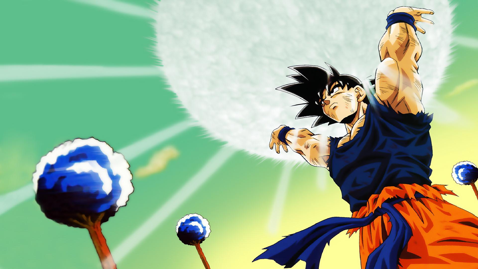 Goku S Spirit Bomb Full Hd Wallpaper And Background