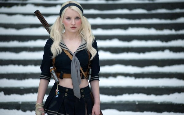 Movie Sucker Punch Emily Browning Babydoll HD Wallpaper | Background Image