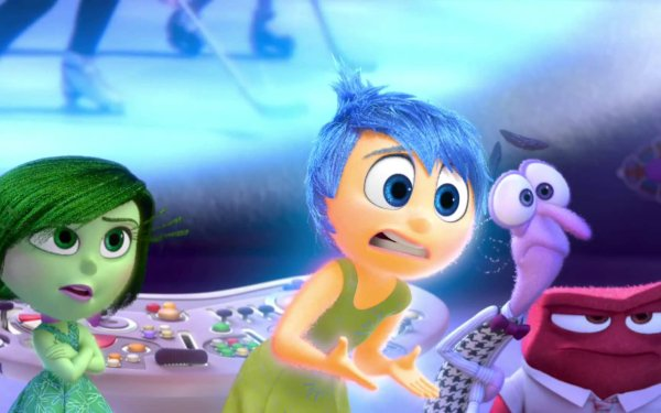 Movie Inside Out Disgust Joy Fear Anger HD Wallpaper | Background Image