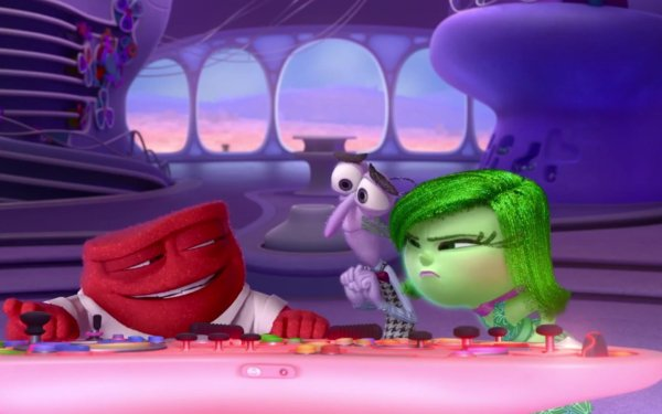 Movie Inside Out Anger Fear Disgust HD Wallpaper | Background Image