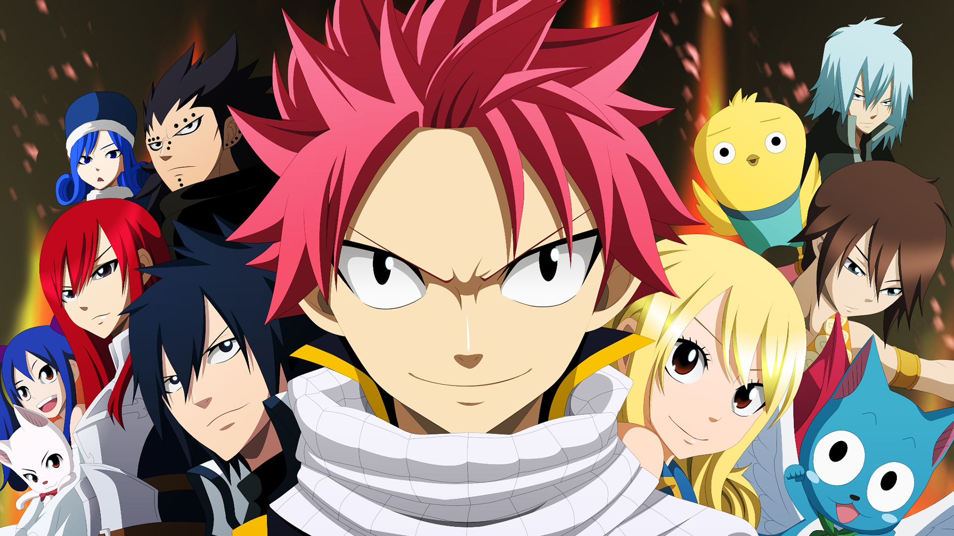 Fairy Tail Fond D Ecran Hd Arriere Plan 1920x1080 Id