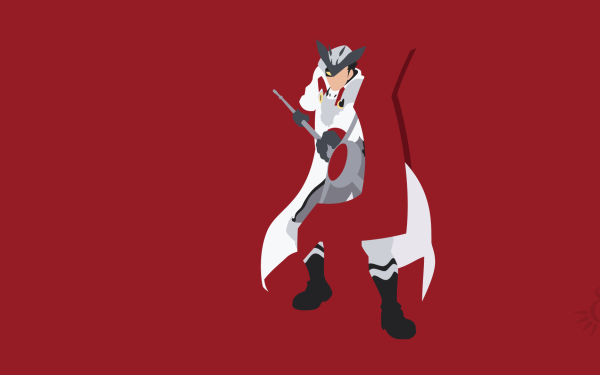Anime Akame ga Kill! Bulat Black Hair Armor Arme Spear Boots Yellow Eyes Helmet Minimalist Fond d'écran HD | Image