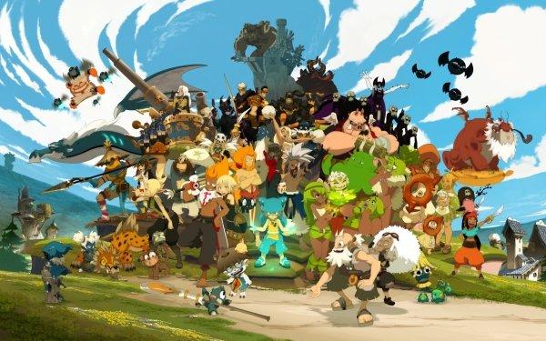 Anime Wakfu The World of Twelve HD Wallpaper | Background Image