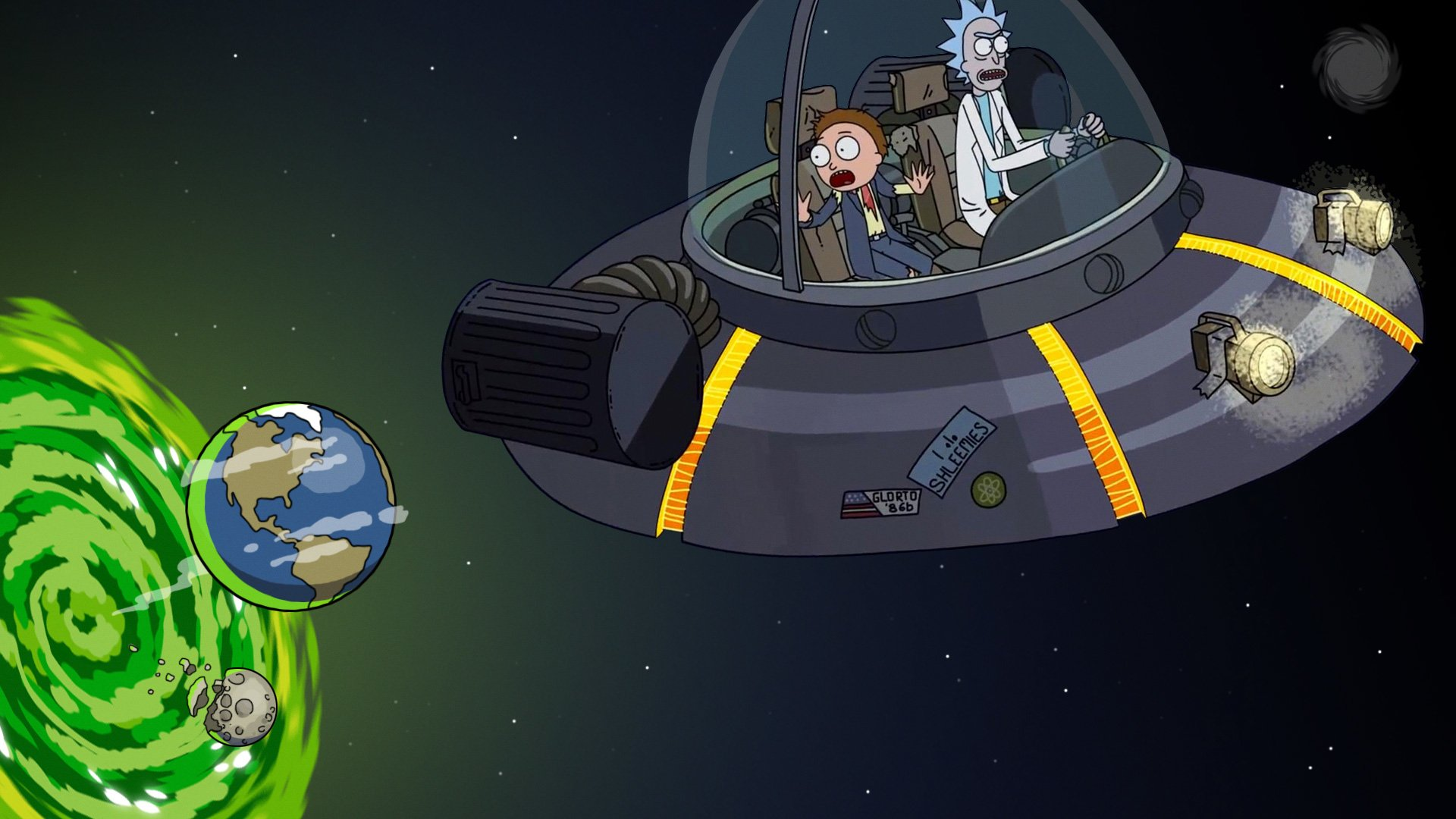 Rick And Morty Hd Wallpaper Background Image 1920x1080 Id