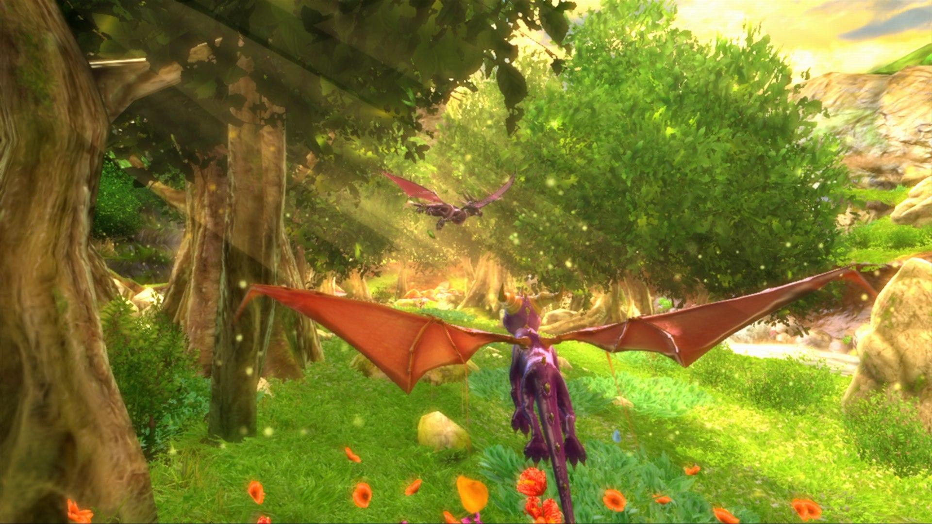 Spyro and cynder hd wallpaper background image - Spyro wallpaper ...