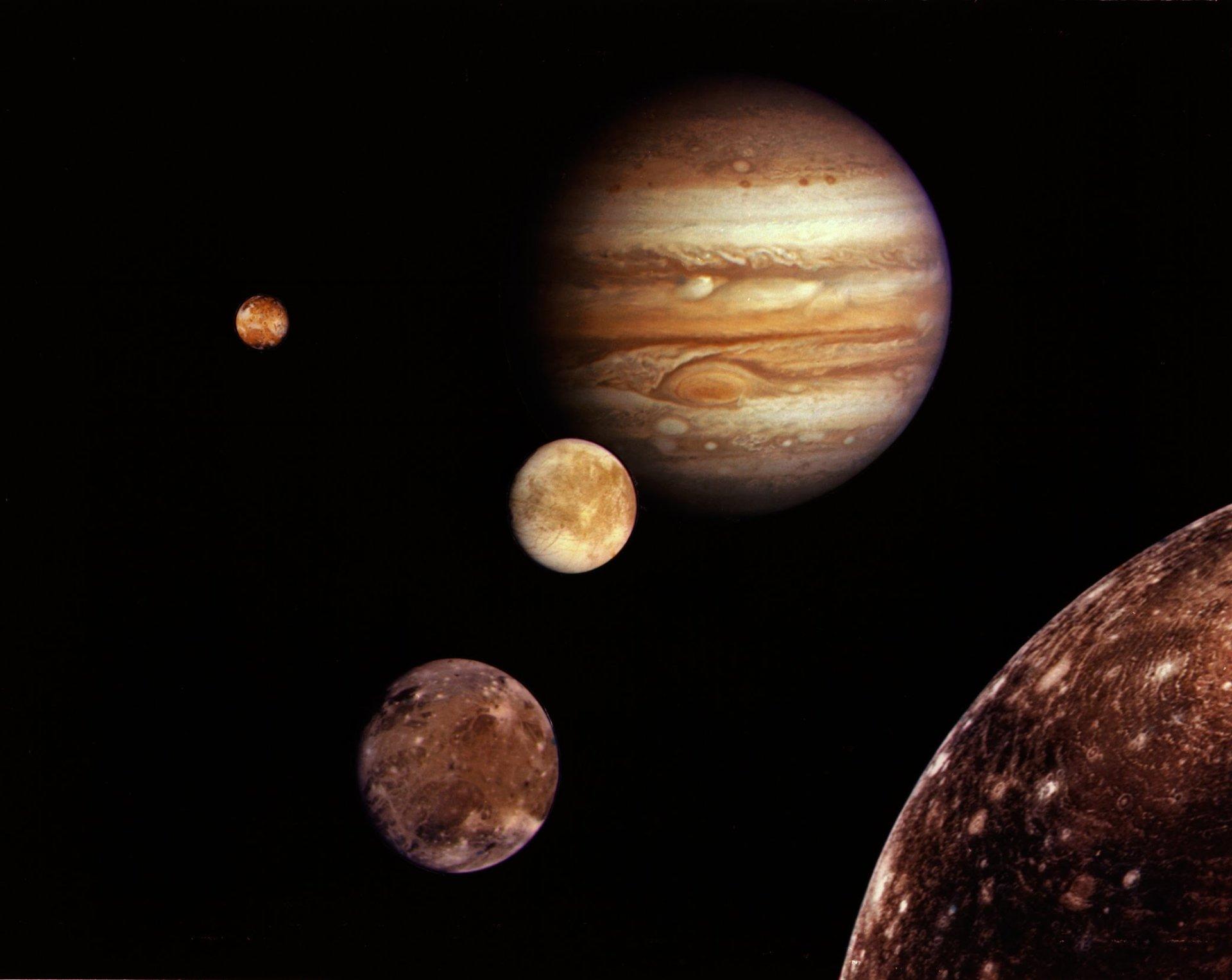 人造 - 美国航空航天局  Jupiter 太空 星球 Solar System 壁纸