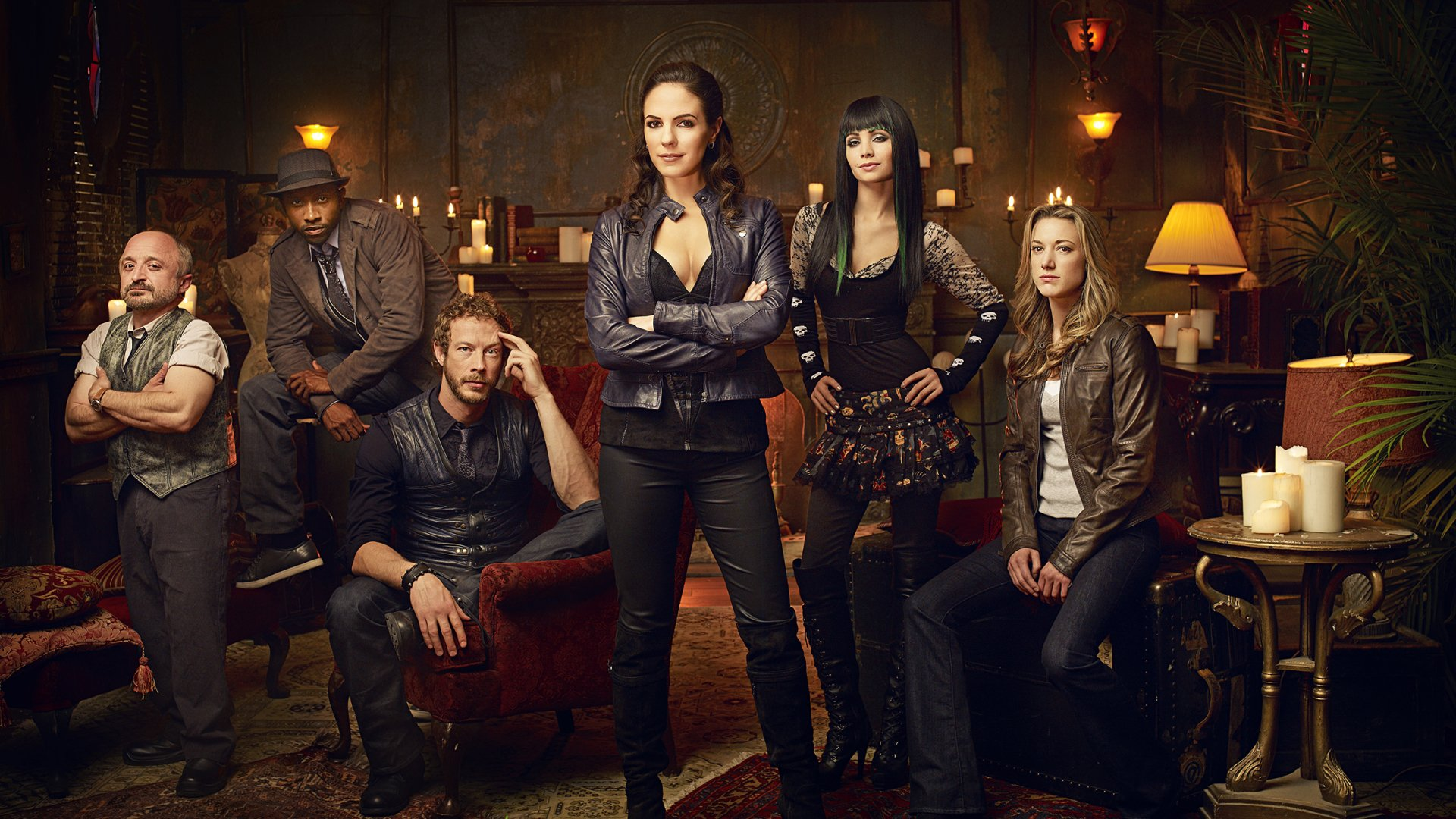 TV Show - Lost Girl  Cast Wallpaper