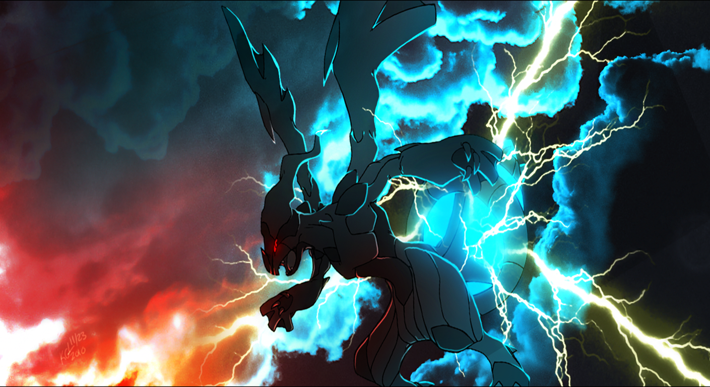 22 Zekrom Pokemon Hd Wallpapers Background Images Wallpaper Abyss