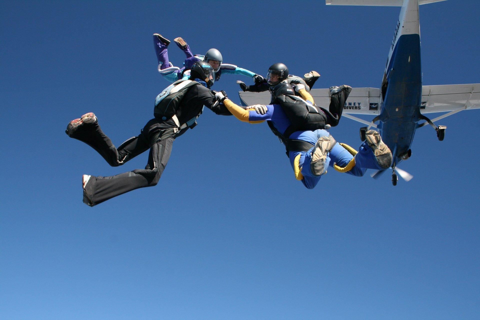 Sports - Skydiving  Wallpaper