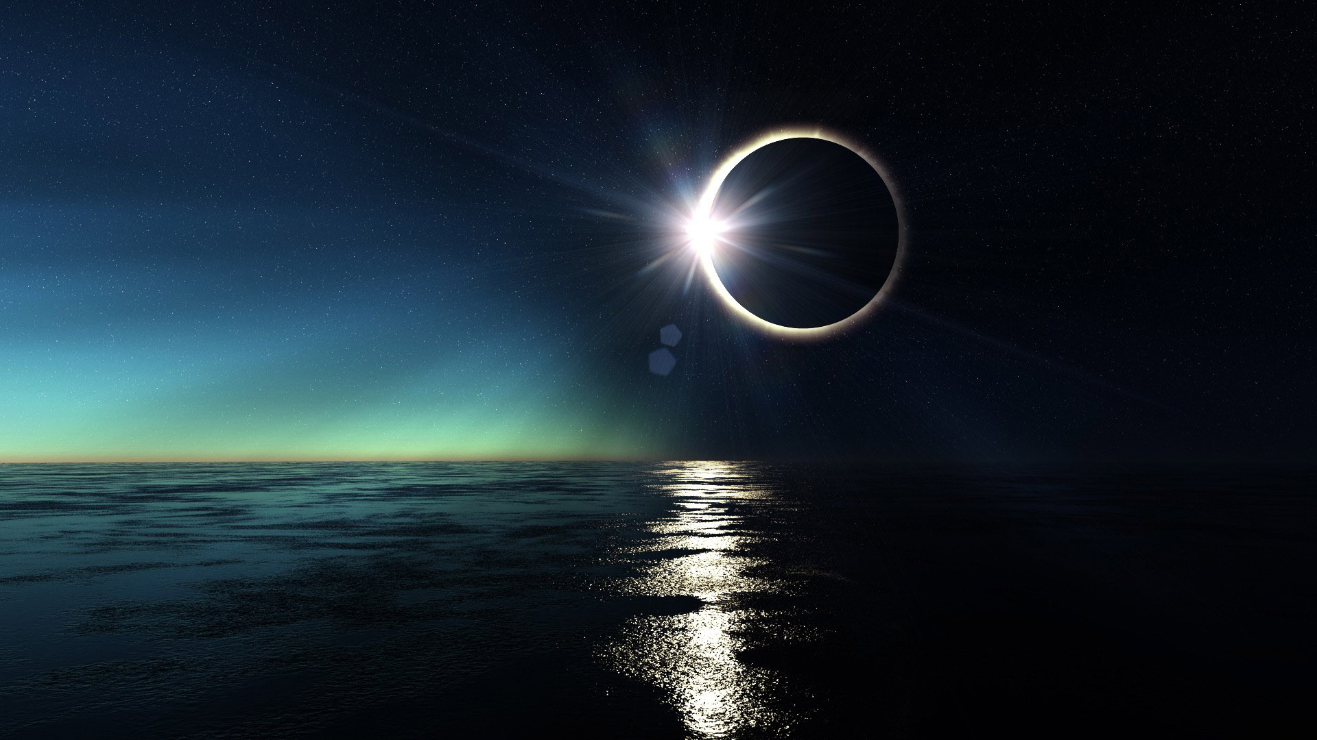 Solar Eclipse HD Wallpaper | Background Image | 1920x1080 ...