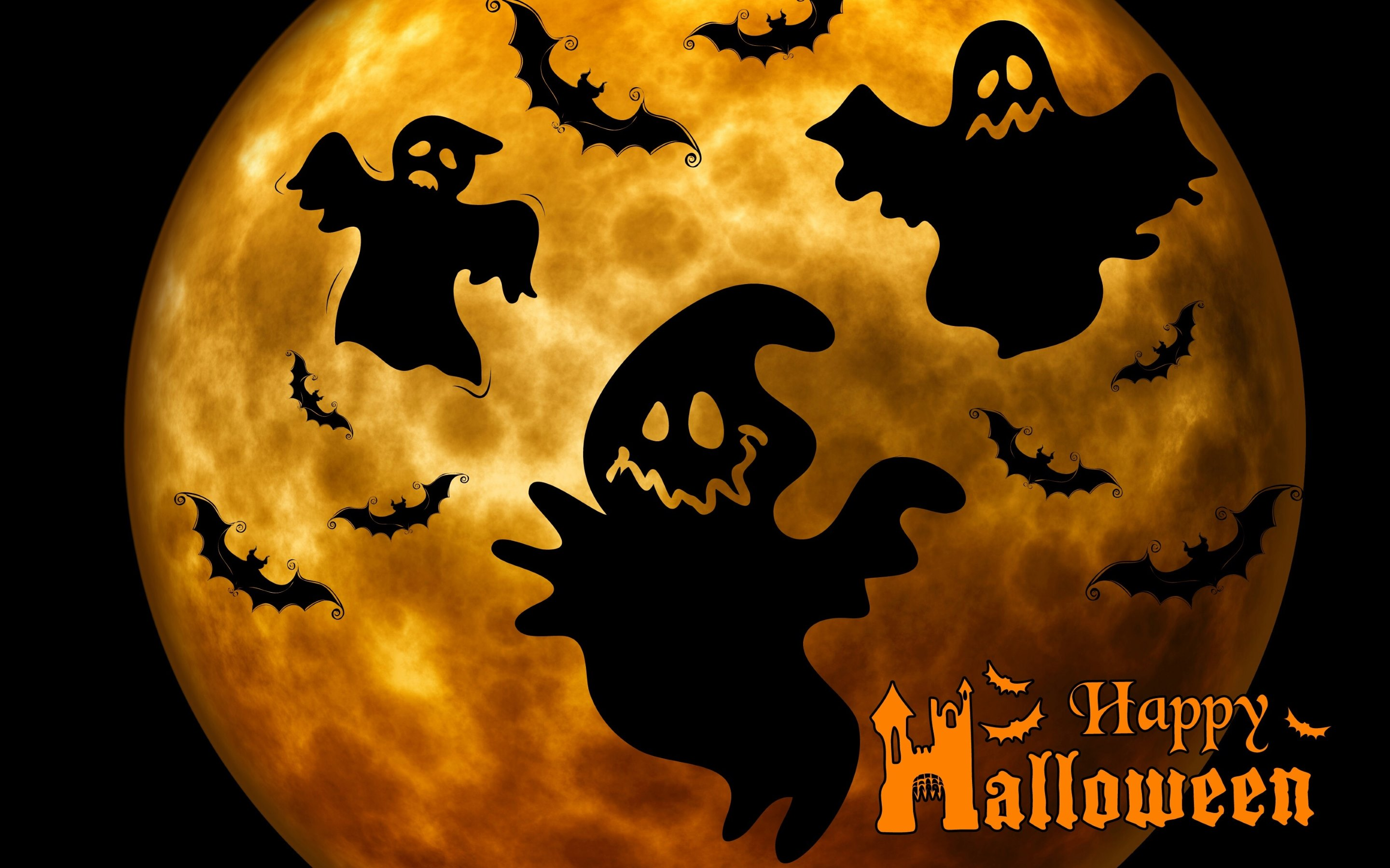 Happy Halloween Full HD Wallpaper and Background ...