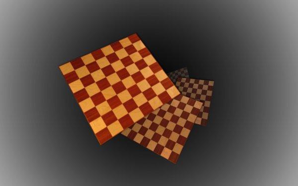 Abstrait 3D Géométrie Echecs Fond d'écran HD   Image