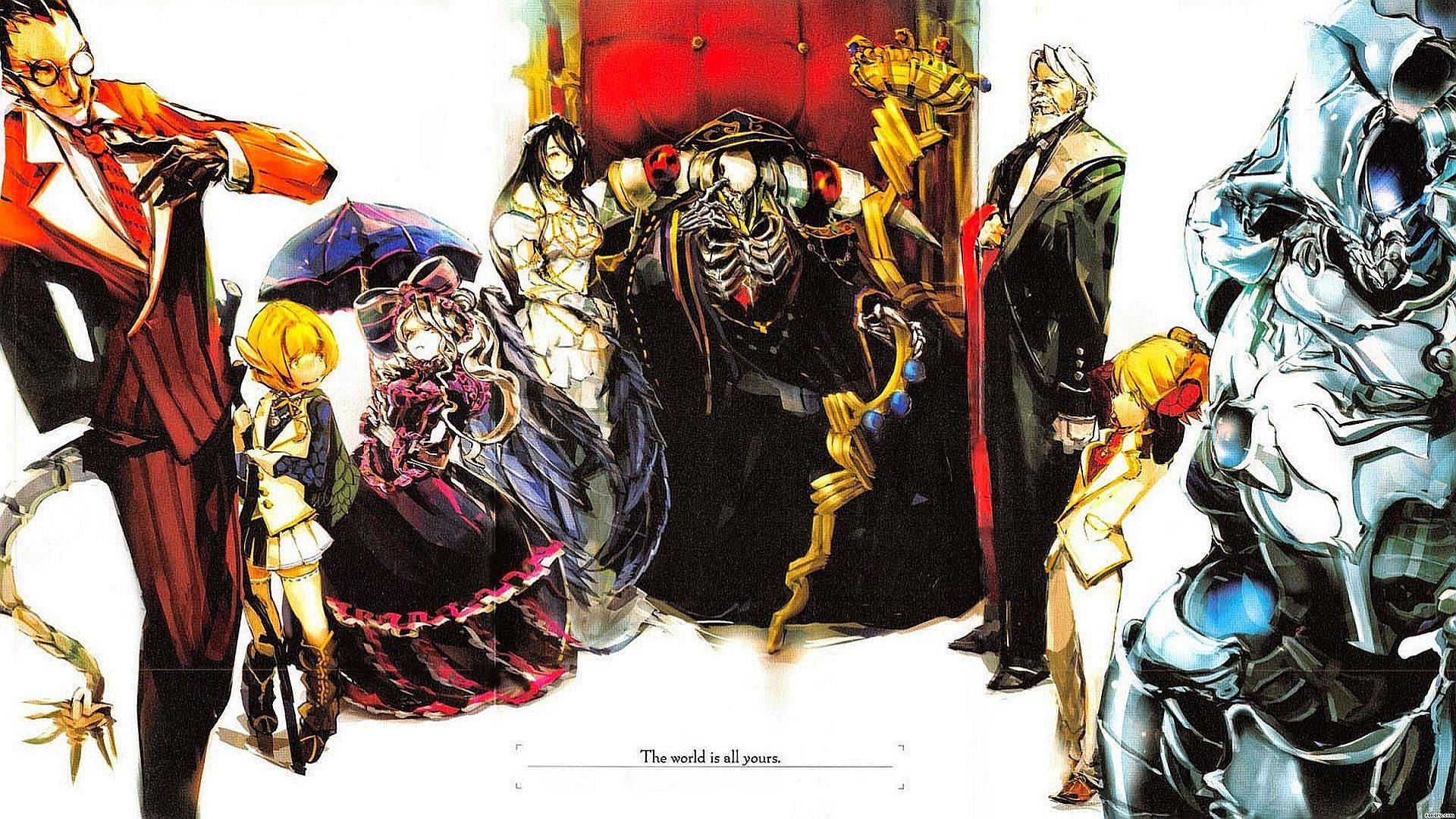 Overlord the world is all yours hd wallpaper background - The world is yours wallpaper ...