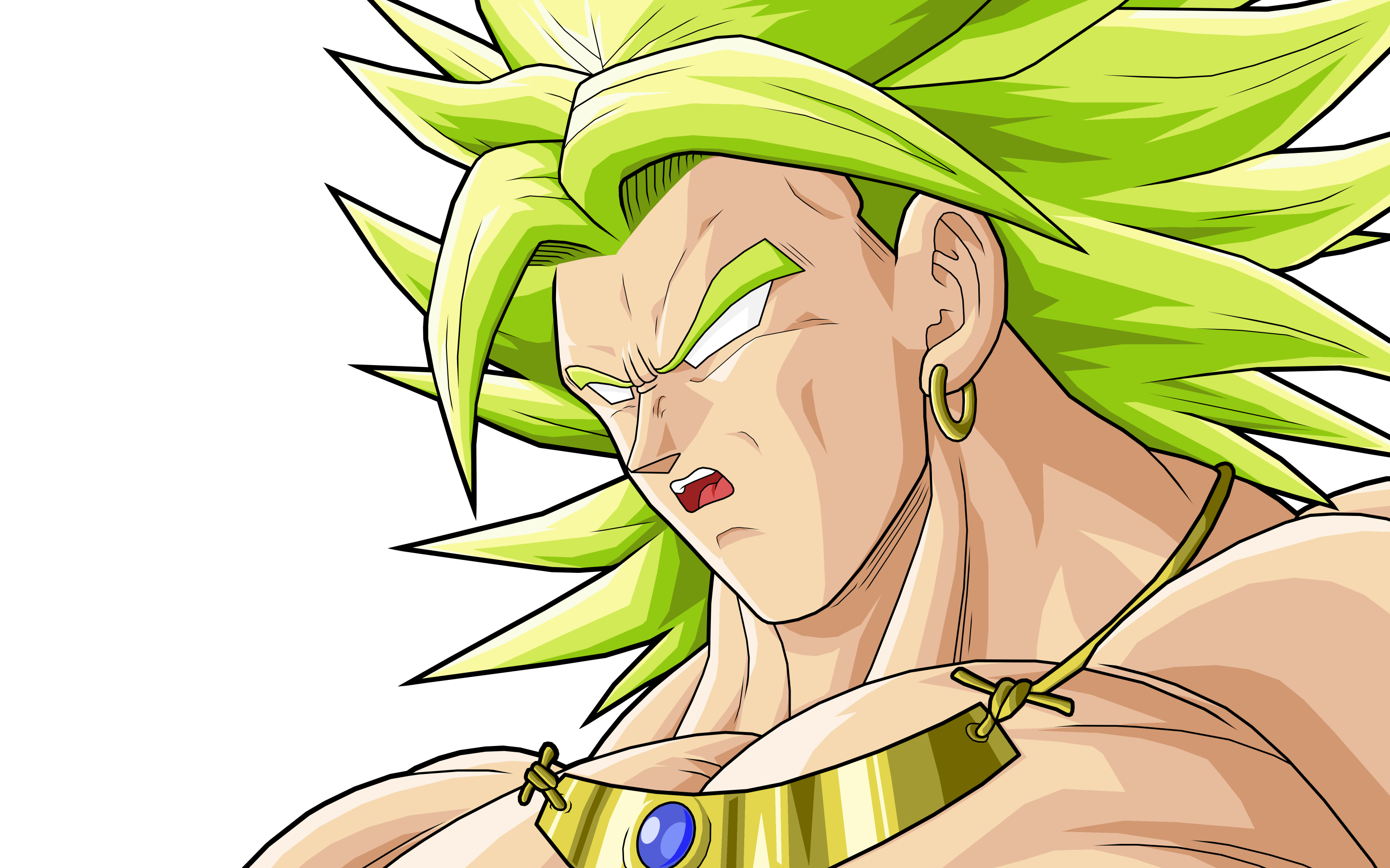Broly SSJ Full HD Wallpaper And Background Image