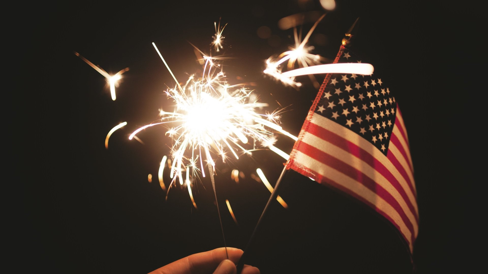 Holiday - 4th Of July  Independence Day American Flag Fireworks Wallpaper