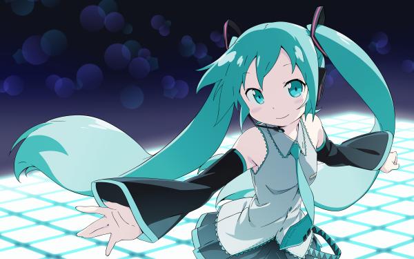 Anime Vocaloid Hatsune Miku HD Wallpaper | Achtergrond