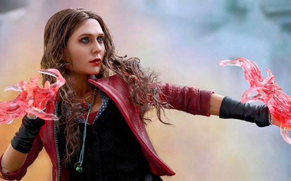 Movie Avengers: Age of Ultron The Avengers Elizabeth Olsen Scarlet Witch Figurine HD Wallpaper | Background Image