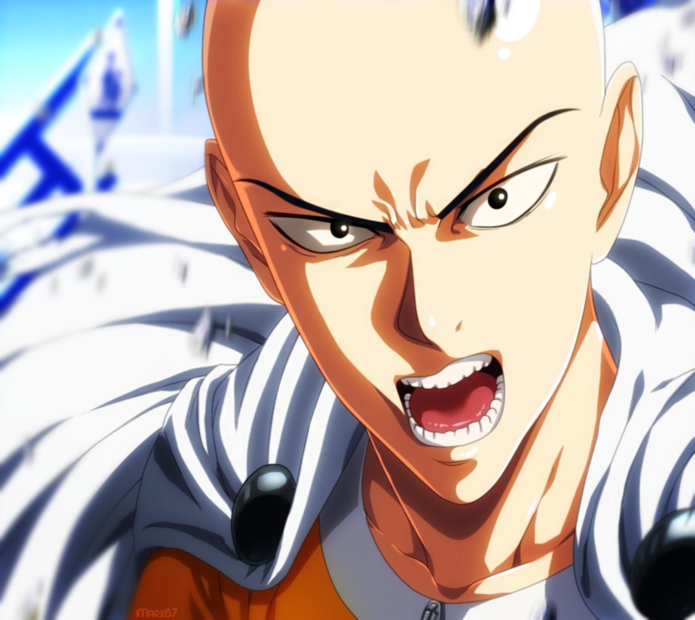 One Punch Man Season 2 Manga Vs Anime: Saitama Wallpaper And Background Image