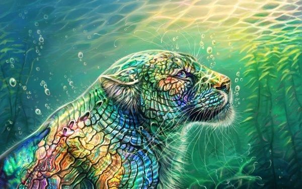 Fantaisie Cheetah Animaux Fantastique Animaux Fond d'écran HD | Arrière-Plan