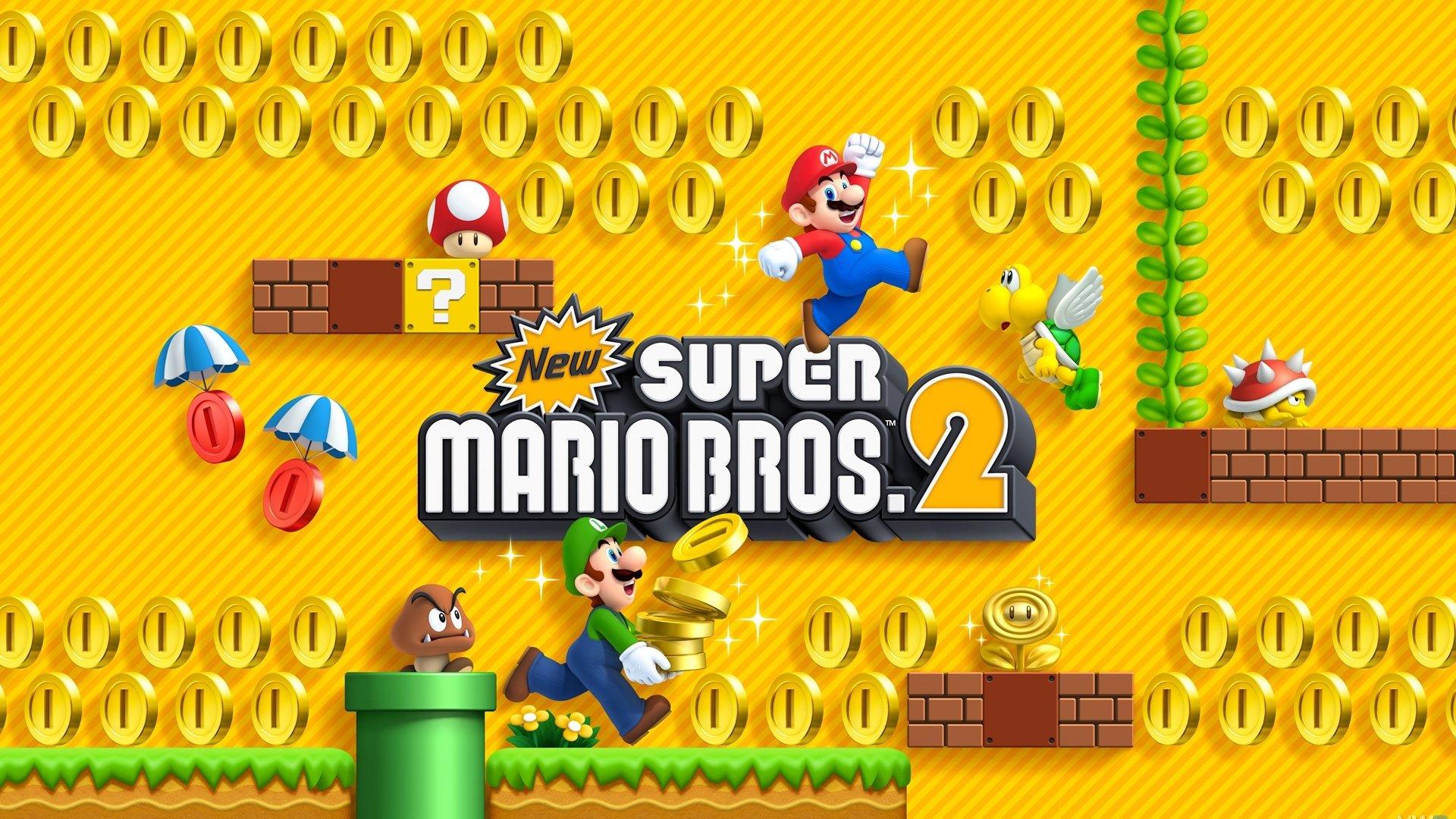 New Super Mario Bros 2 Hd Wallpaper Background Image