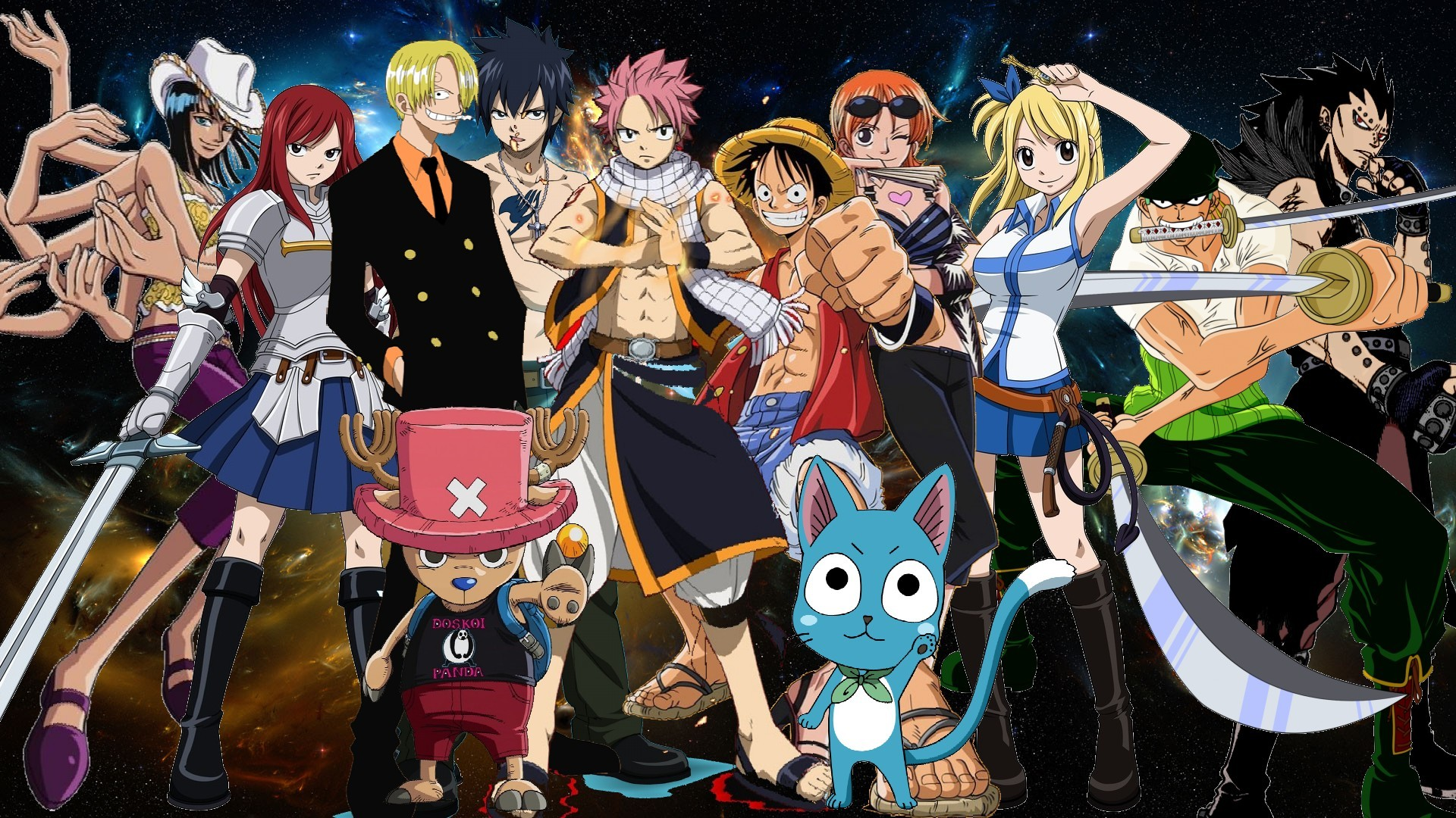 Crossover full hd wallpaper and background image - Anime full hd download ...