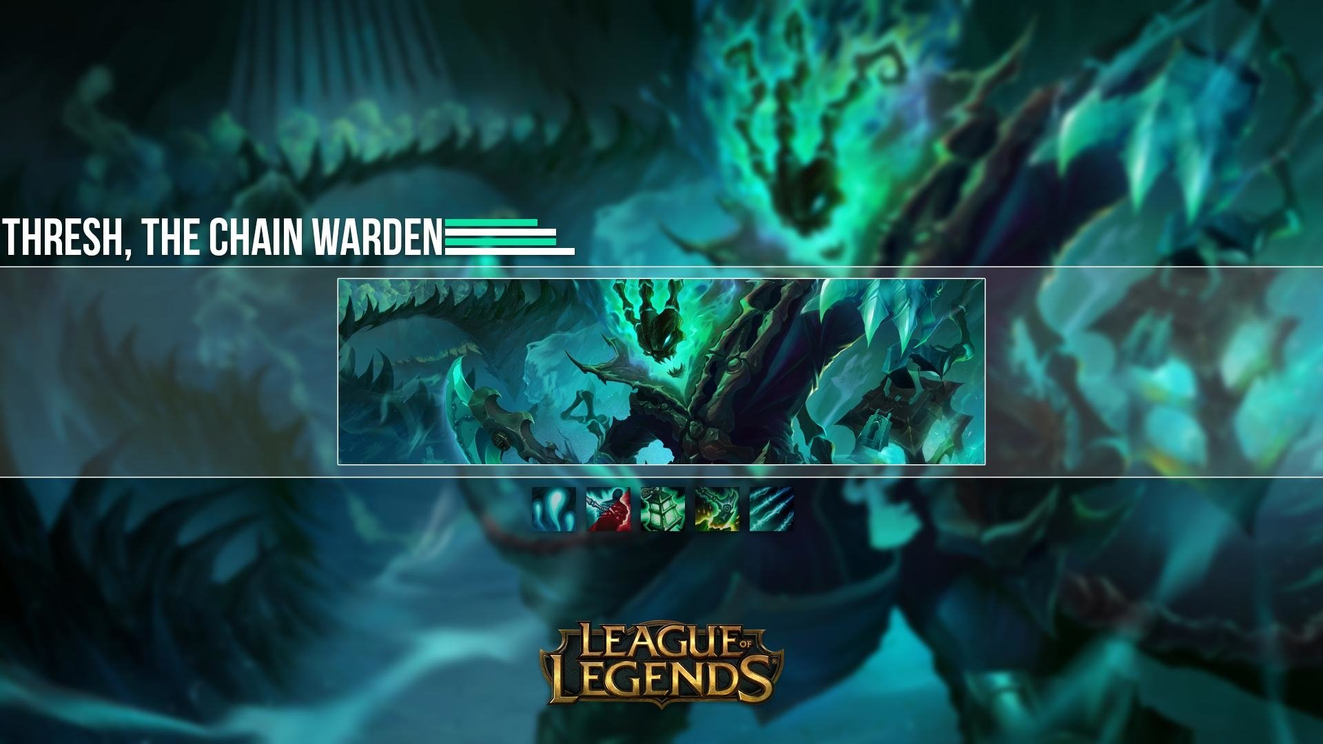 39 Thresh League Of Legends Hd Wallpapers Background Images