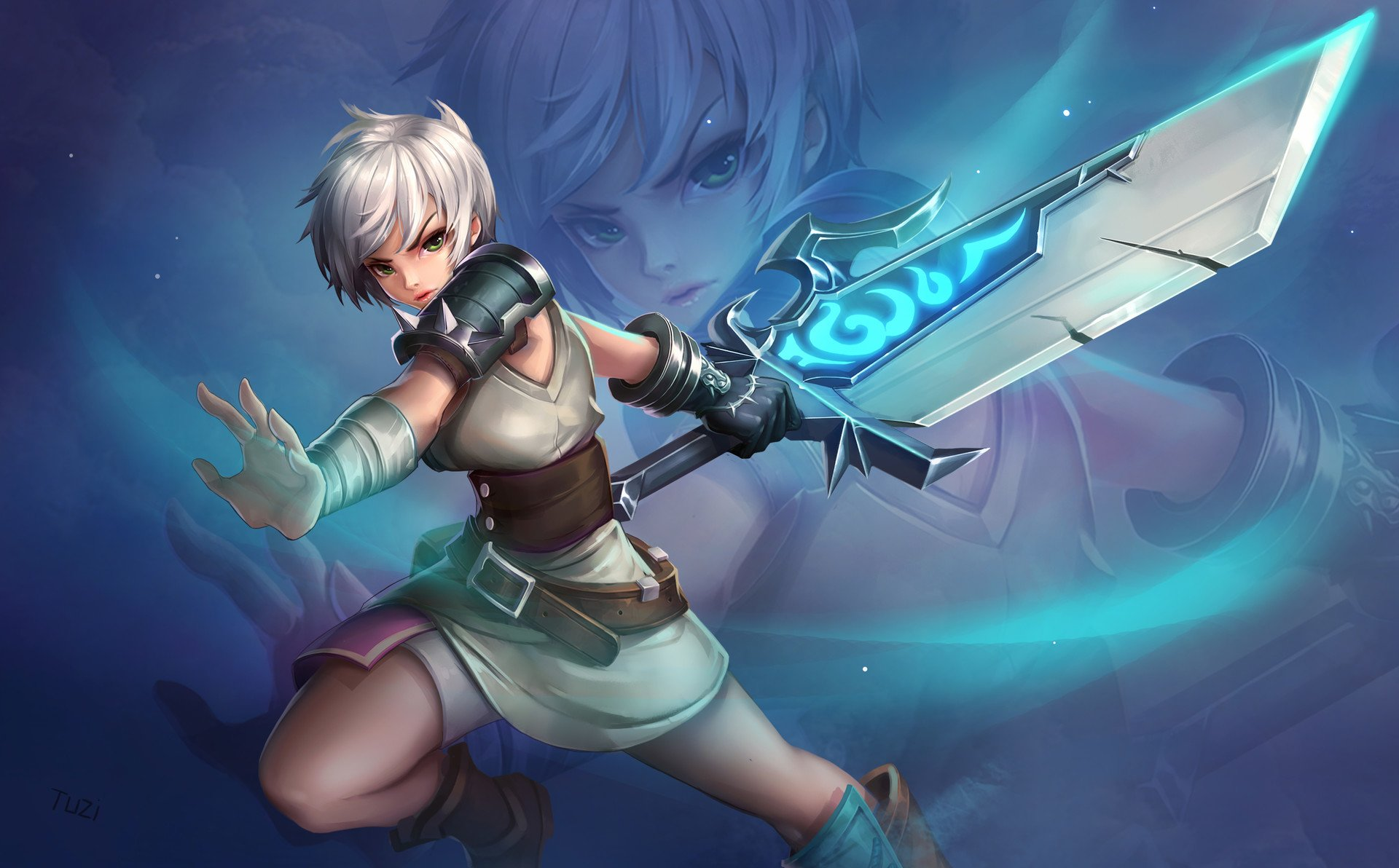 122 riven (league of legends) hd wallpapers | background images