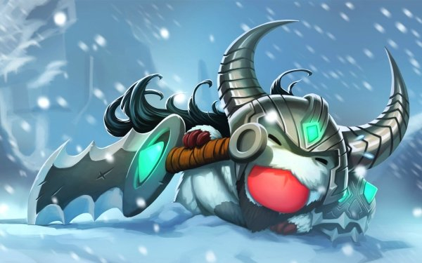 Video Game League Of Legends Tryndamere Poro HD Wallpaper | Background Image