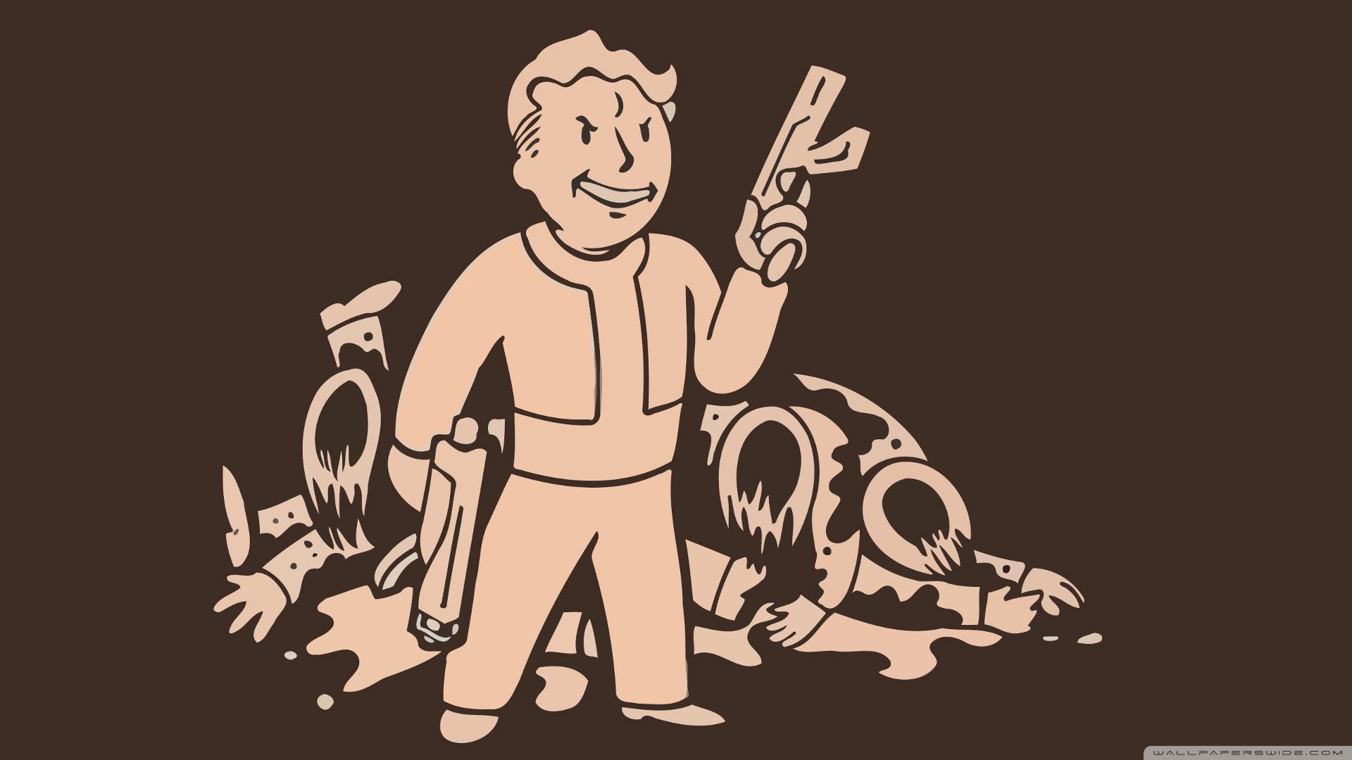 Fallout 2 HD Wallpaper