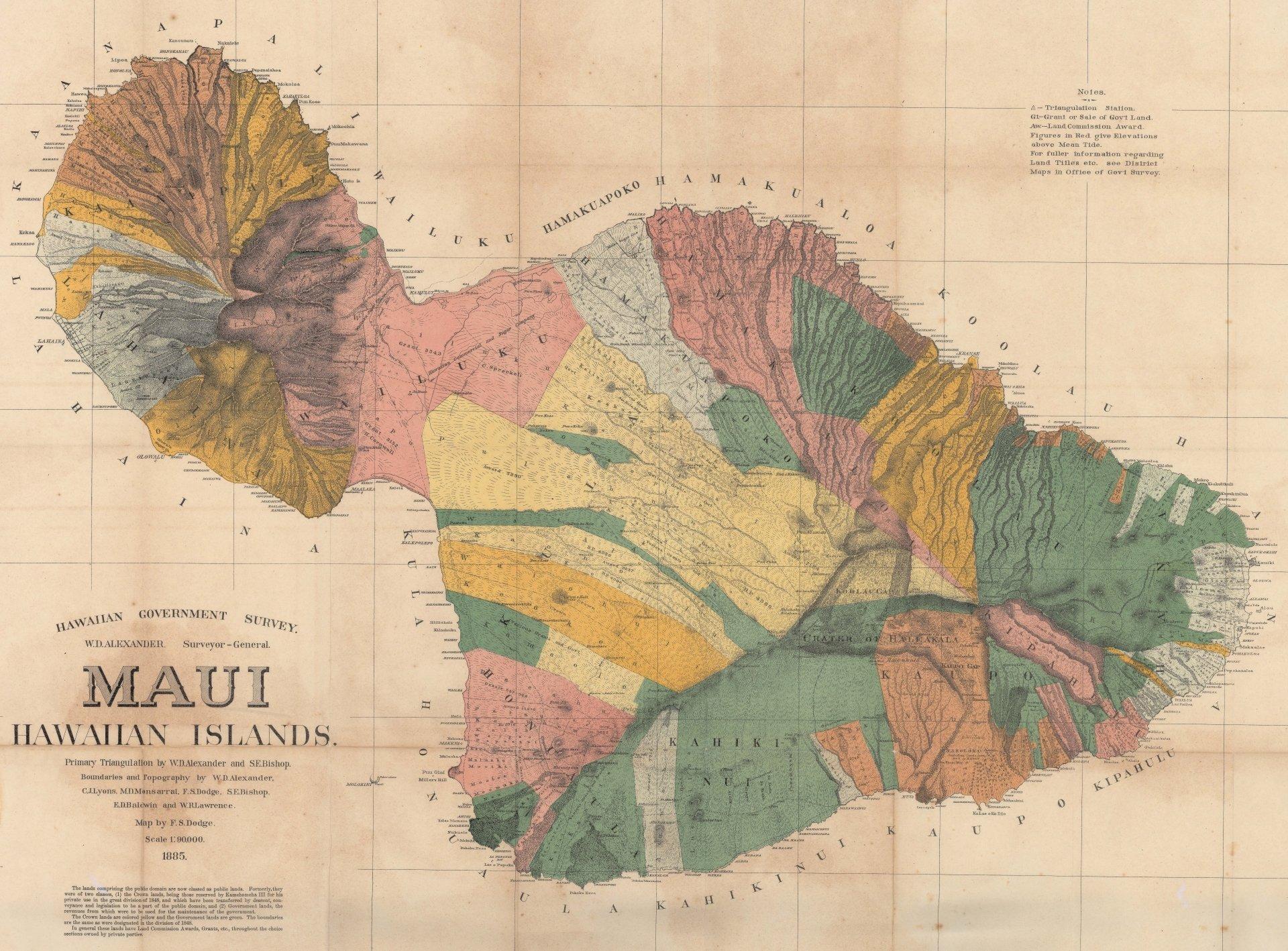 Maui Island Hawaii Ca 1885 8k Ultra Papel De Parede Hd Plano De