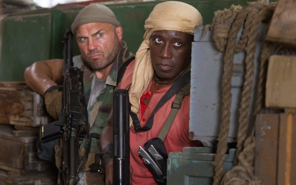 Movie The Expendables 3 The Expendables Wesley Snipes Doc Toll Road Randy Couture HD Wallpaper | Background Image