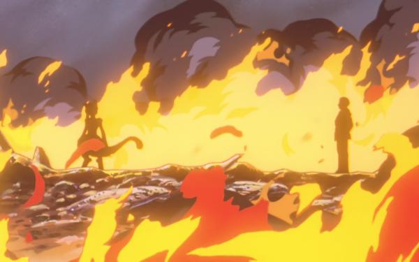 Anime Pokémon The Movie: Mewtwo Strikes Back Pokémon Mewtwo Giovanni Fondo de pantalla HD | Fondo de Escritorio