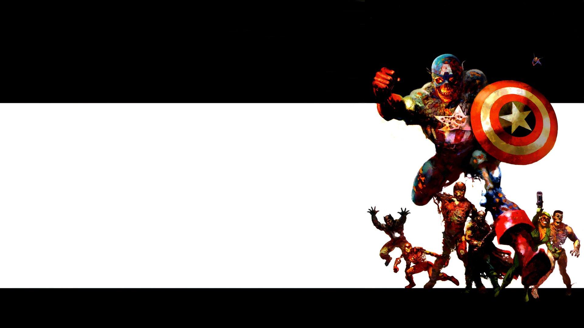 Comics - Marvel Zombies  Wallpaper