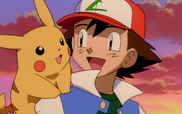 Anime Pokémon 2 : Le pouvoir est en toi Pokémon Pikachu Ash Ketchum Garçon Cap Fond d'écran HD | Arrière-Plan
