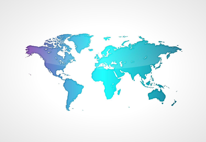 Weltkarte Hintergrund