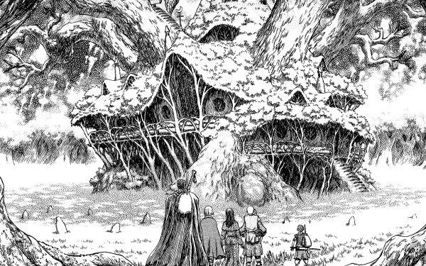 Anime Berserk Guts Casca Farnese Serpico Isidro HD Wallpaper | Background Image