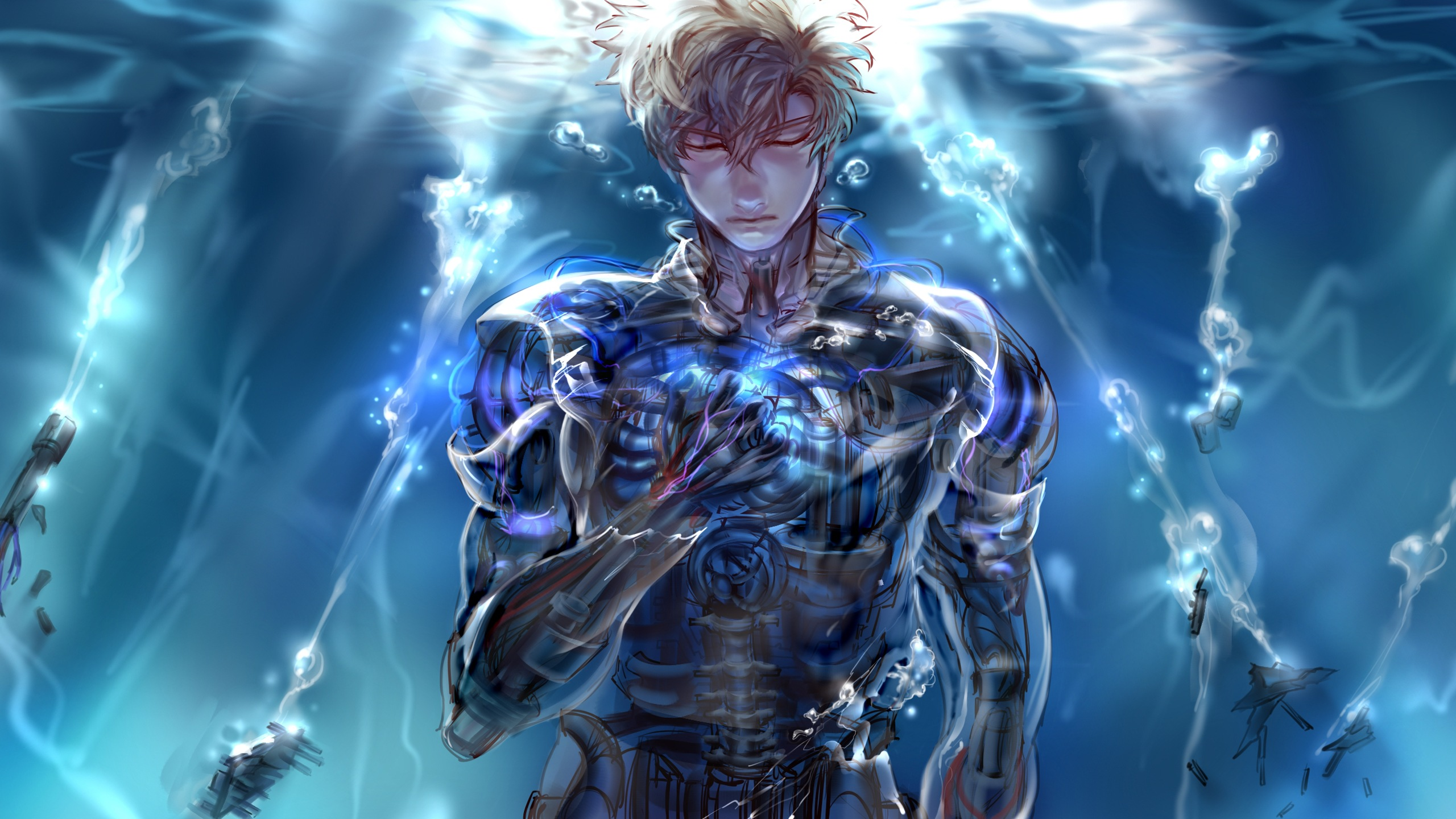 150 Genos E Punch Man HD Wallpapers