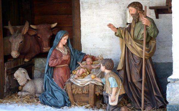 Día festivo Navidad Nativity Cristiano Religious Fondo de pantalla HD | Fondo de Escritorio