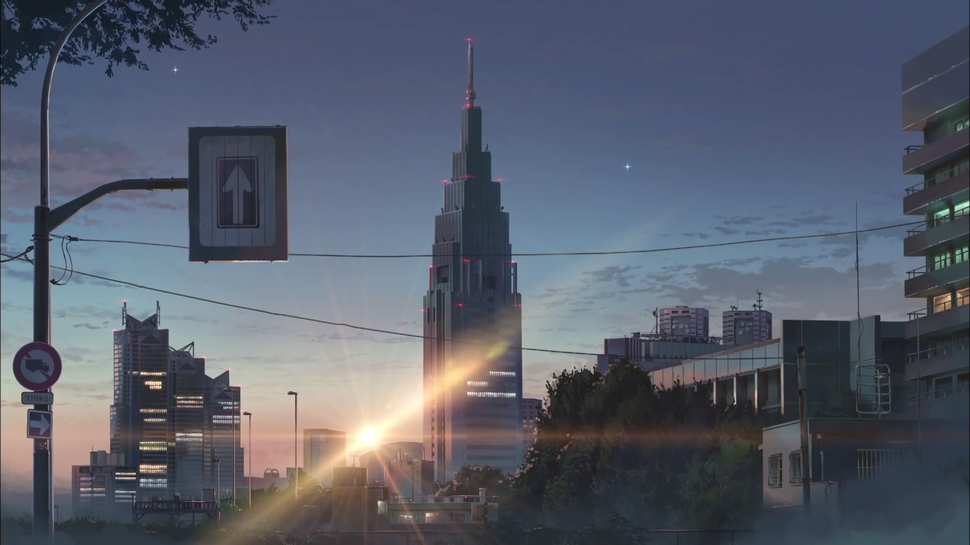 Sunset on Tokyo (From Your name. - 君の名は。) Computer ...
