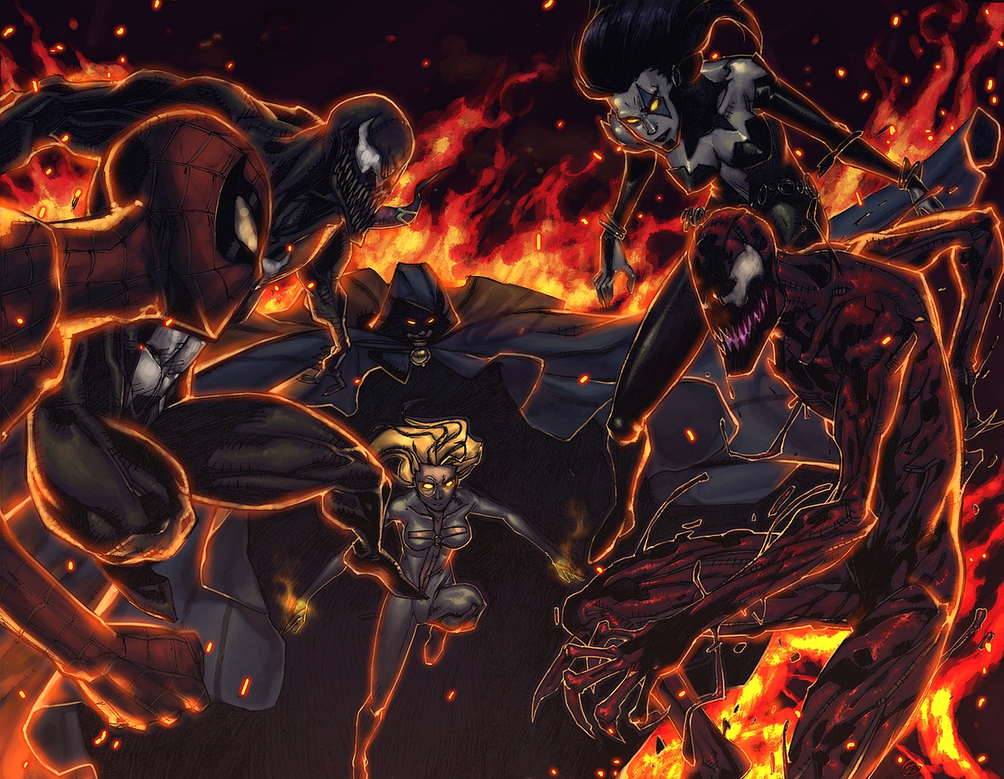 1 Maximum Carnage Hd Wallpapers Backgrounds Wallpaper Abyss
